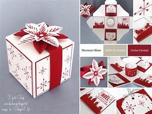 Boite Cadeau Vide Gifi : tutoriel boite explosion no l fleur festive en kit ~ Dailycaller-alerts.com Idées de Décoration