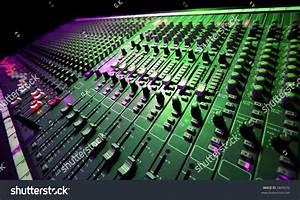 Large Music Mixer Desk At He Concert Stock Photo 6849232 ...