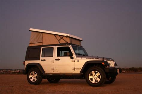 jeep pop up tent trailer the jeep wrangler blows its lid with ursa minor pop top