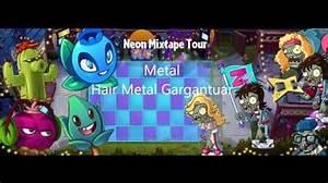 Video PvZ 2 Neon Mixtape Tour music mix 5 2