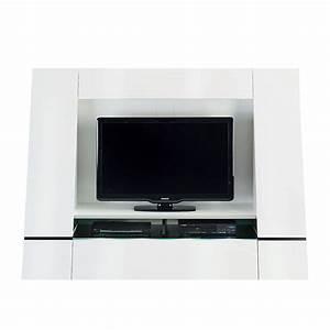 Tv Wand Weiß Hochglanz : tv wand cuuba luxor 45 hochglanz wei ~ Indierocktalk.com Haus und Dekorationen