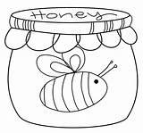Honey Pot Coloring Drawing Scribbles Challenge Printable Getdrawings Drawings Freebie Friday Paintingvalley Getcolorings sketch template