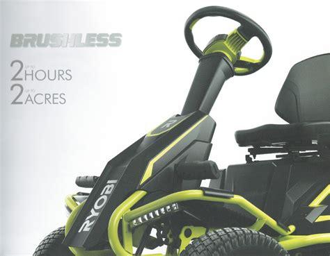 """Ryobi 38"""" Electric Riding Mower Rm480e  Tool Craze"""