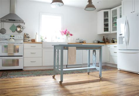 Table Turned Kitchen Island