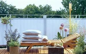 balkonpflanzen tipps fur jeden balkon schoner wohnen With markise balkon mit tapeten für kleine räume