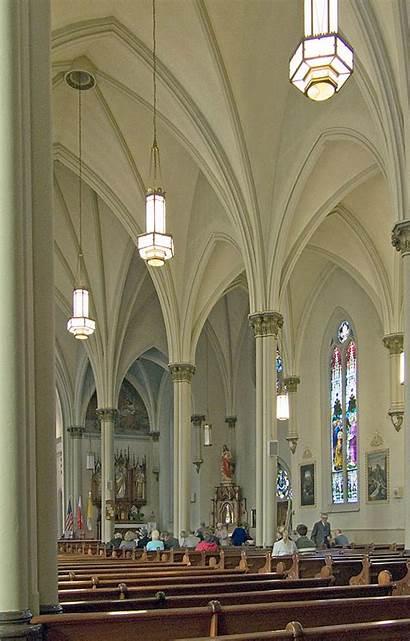 Agatha Church Saint Louis Catholic Before Mass