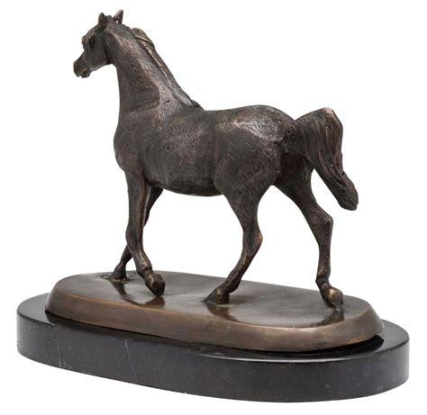 bronze pferd bronzeskulptur figur araber skulptur antik