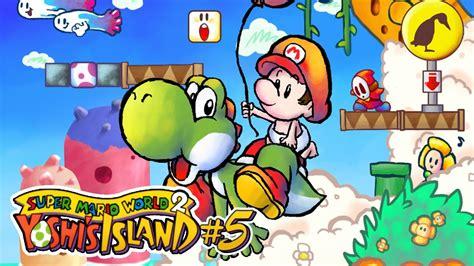 Super Mario World 2 Yoshis Island 5 Agora Vou Jogar