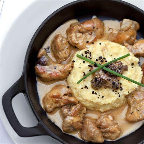 cuisiner ris de veau recette ris de veau à la crème et purée maison