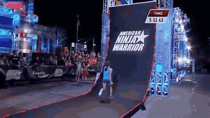 Ninja American Warrior Woman Wall Warped Course