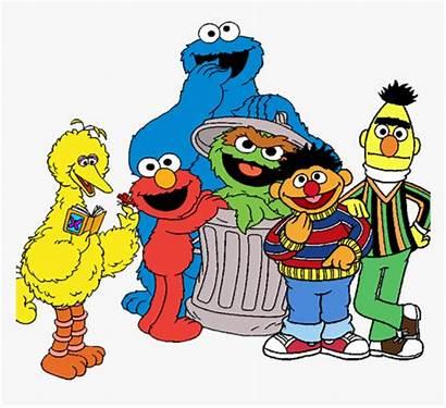 Sesame Street Characters Clipart Transparent Vector Clip
