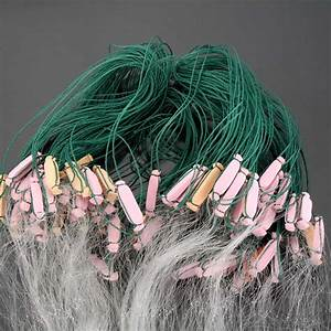 25m 3 Layers Fishing Net Monofilament Fishing Gill Network
