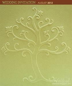 wedding invitation for marta roger embossed tree by With embossed tree wedding invitations