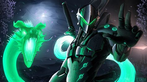 Genji Animated Wallpaper - genji animated wallpaper overwatch lengkap