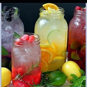 Summer drinks in mason jars | Recipes - Drinks | Pinterest