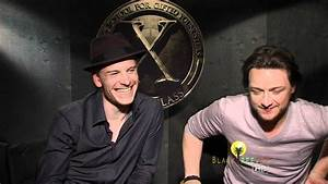 X-Men: First Class James McAvoy & Michael Fassbender as ...