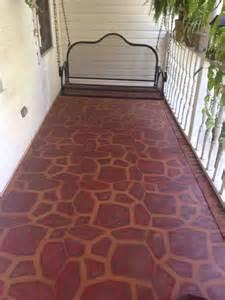 Paint Concrete Porch Floor Ideas Stencils