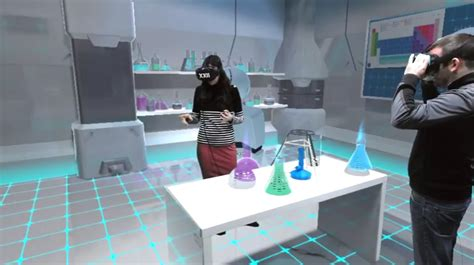 Xxii Creates A Virtual Augmented Laboratory For Chemical Experiments Vrfocus