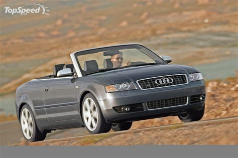Audi S4 Cabriolet 2006 Images Auto Databasecom