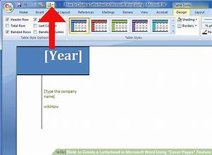 how to create a letterhead in microsoft word using quotcover With how to use microsoft word