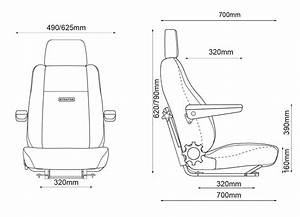 Stratos Ltss Truck Seat