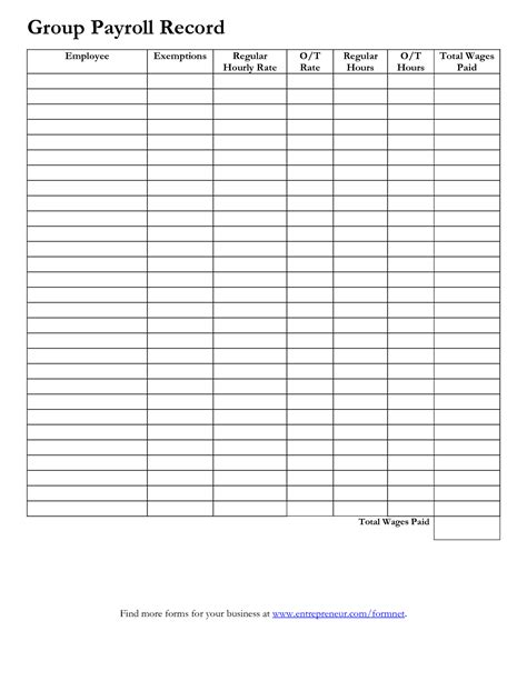 Employee Earnings Record Template by Search Results For Sle Employee Pay Chart Sheets