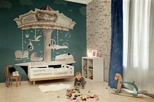 Schöne Tapeten Für Kinderzimmer : designer tapeten im kinderzimmer kindertraumwelten ~ Markanthonyermac.com Haus und Dekorationen