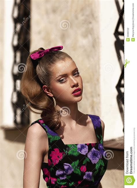 girl  baby doll face stock photography image