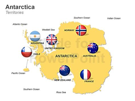antarctica map editable  maps