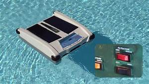 solar nx solar powered floating skimmer