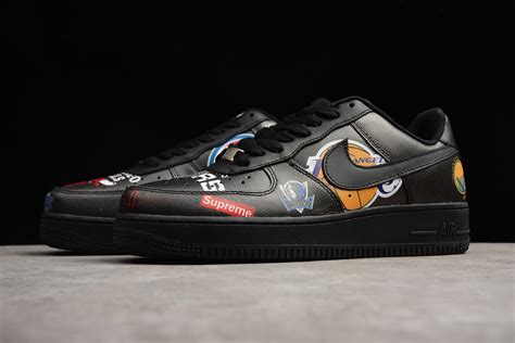 nike air 1 low supreme supreme x nike air 1 low nba black men s and women s