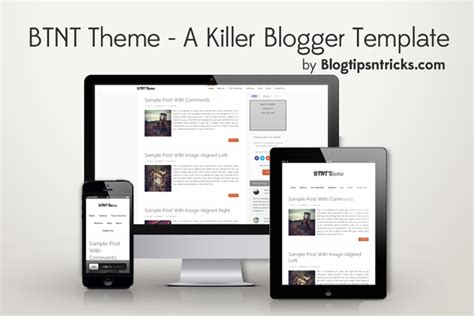Templates 3 Columns Hola by Free Templates Blogtipsntricks