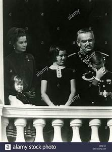 Grace Kelly with Prince Rainier III of Monaco and the ...