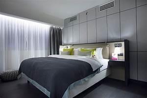 Tete De Lit Moderne : chambre moderne 56 id es de d co design ~ Teatrodelosmanantiales.com Idées de Décoration