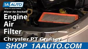 How To Replace Engine Air Filter 01