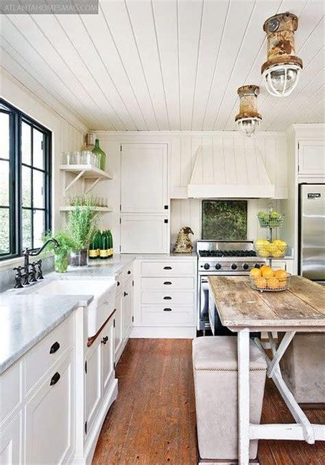 cozy  chic farmhouse kitchen decor ideas digsdigs
