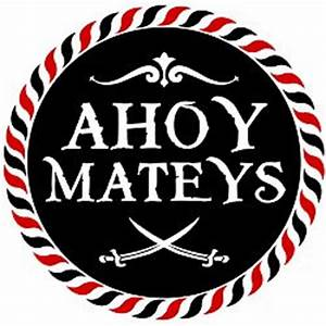 Pirate Party - Ahoy Mateys Printables Free Download