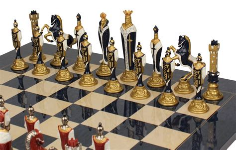 browse excellent metal chess sets chessmen and other
