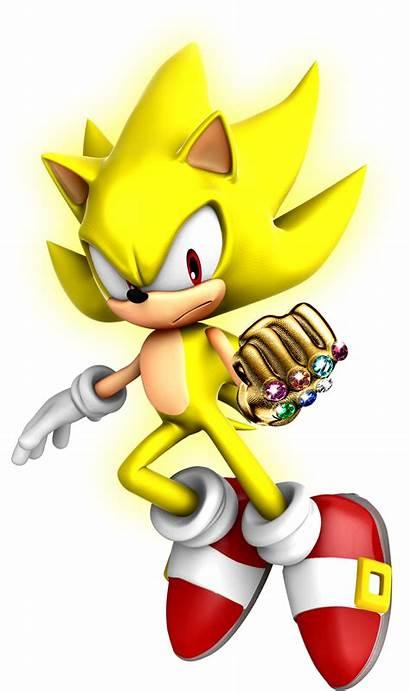 Sonic Hedgehog Super Chaos Gauntlet Clipart Ultimate