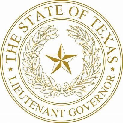 Seal Governor Texas State Lieutenant Lt Svg