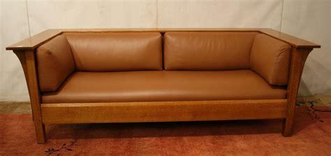 stickley leather sofa price stickley sofa prices 300 series stickley sofa chairish