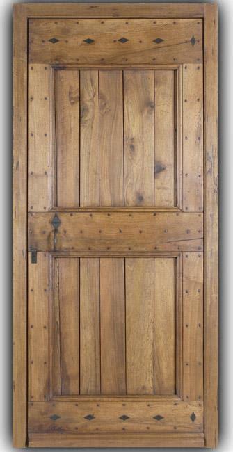 facade cuisine chene brut porte d 39 entree bergerie