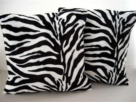 vtg retro 60s zebra animal print fabric cushion cover ebay
