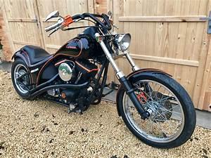 Bobber Harley Davidson : harley davidson softail custom bobber chopper 9 picclick uk ~ Medecine-chirurgie-esthetiques.com Avis de Voitures
