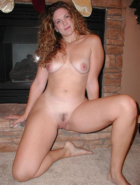 By The Fireplace Milf Luscious