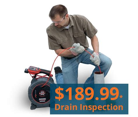 drain tile inspection cleaning in