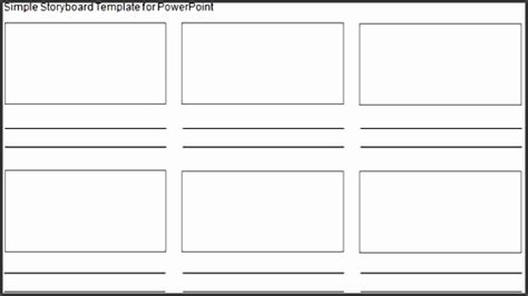 storyboard template  powerpoint sampletemplatess