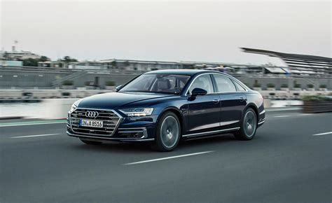 2019 Audi A8 Photos by 2019 Audi A8 Rear Left Driving Photos Pictures
