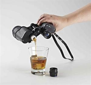 Double Sided Binocular Whiskey Flask - Life Changing Products