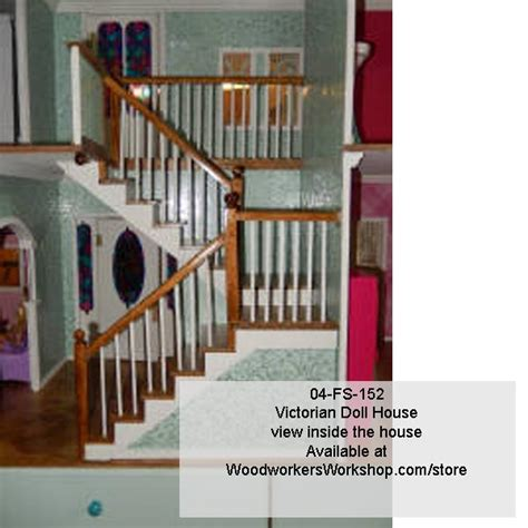 country style house floor plans 04 fs 152 doll house woodworking plan